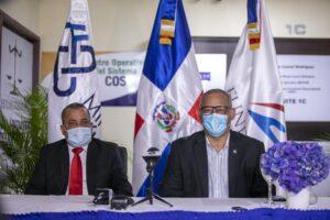 Magistrado Francisco Contreras y Reverendo Fidel Lorenzo Merán